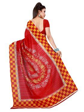 Florence Printed Bhagalpuri Silk Sarees FL-11693