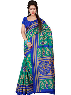 Florence Printed Bhagalpuri Silk Sarees FL-11700