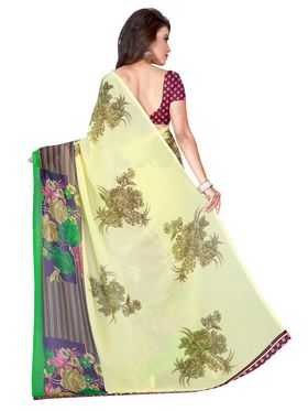 Florence Printed Faux Georgette Sarees FL-11732
