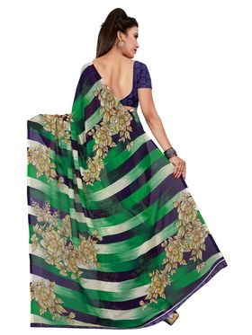 Florence Printed Faux Georgette Sarees FL-11742