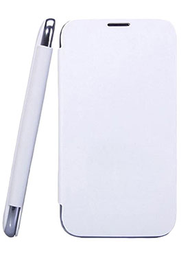 Feomy Flip Cover for Xolo Q700   White available at Naaptol for Rs.156