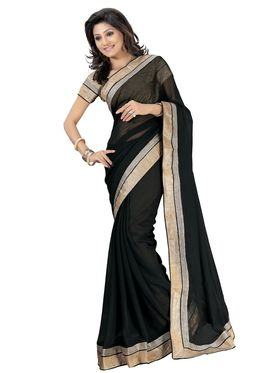 Pack of 3 Florence Printed Faux Georgette Saree - FL_3_1