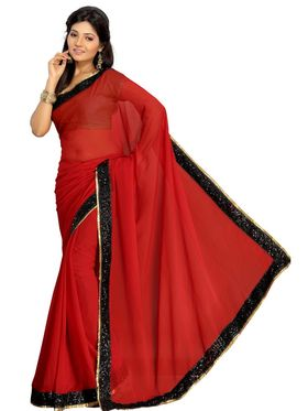 Pack of 3 Florence Printed Faux Georgette Saree - FL_Jayho_3_11