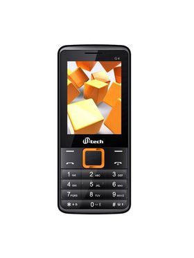 MTECH G4 :16GB BLACK ORANGE MULTIMEDIA MOBILE PHONE WITH LED TORCH