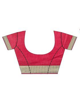Shonaya Embroidered Georgette & Jacquard Saree - HIIMX-6050