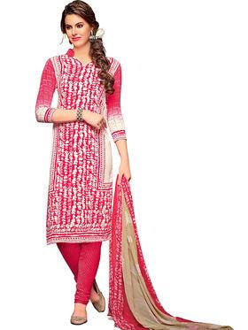 Khushali Fashion Crepe Printed Dress Material -Hnyfdzl35003