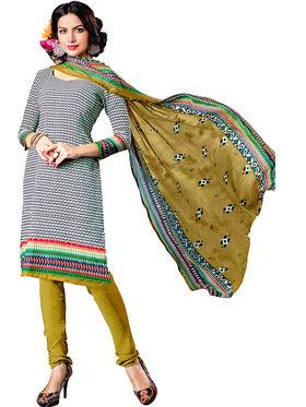 Khushali Fashion Crepe Printed Dress Material -Hnyfdzl35015