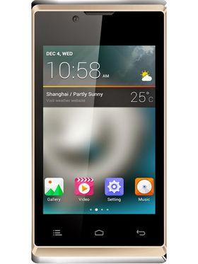 Hitech Amaze S305 Android Kitkat Smartphone - Golden
