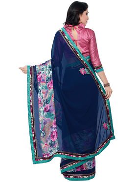 Indian Women Georgette Saree -IC40404