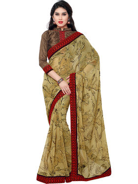 Indian Women Georgette Saree -IC40419