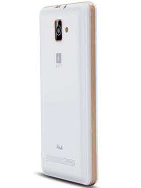iBall Andi 4 B20 Android Kitkat Phone - White & Gold
