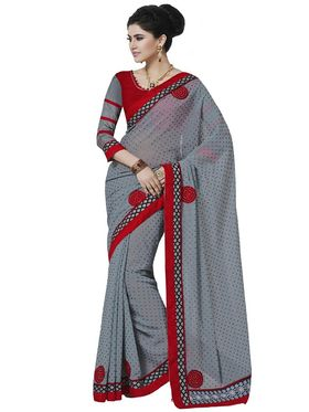 Pack of 3 Bahubali Embroidered Sarees - GAL916