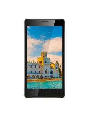 Intex Aqua Power HD 5 Inch Android 4.4.2 (KitKat) - Blue & Gold