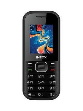 Intex A-One+ Dual Sim Mobile Phone - Black & Blue