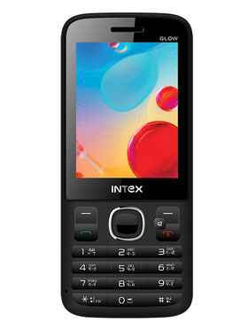 Intex Turbo Glow 2.8 Inch Dual SIM Mobile Phone
