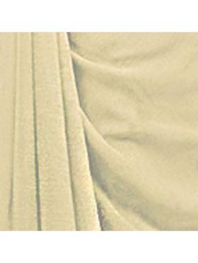 Khushali Fashion Georgette Plain Saree(Cream)_JAZZ598