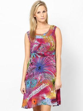 Kaxiaa Georgette Printed Dresses -K-1017B
