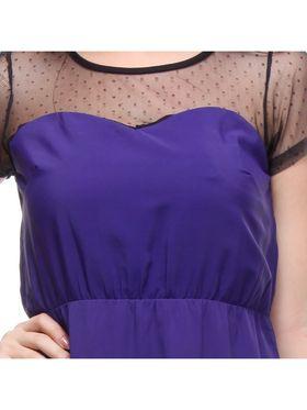 Kaxiaa Polyster Solid Dresses -K-786B