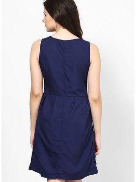Kaxiaa Polyester Plain Dresses -K-922B