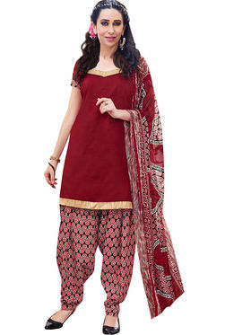 Combo of 5 Khushali Fashion Cotton Printed Unstitched Dress Material -Kfcmbo005