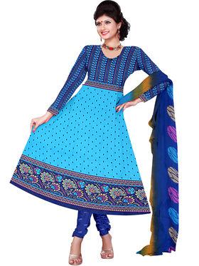Combo of 7 Khushali Fashion Crepe Printed Dress Material -Kfcmbo103