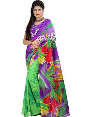 Arisha Georgette Printed Saree -Khgsstar209
