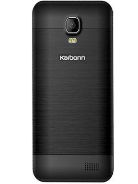 Karbonn Alfa A90 Dual Sim Android Kitkat 3G Smartphone - Black