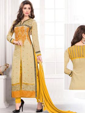 Viva N Diva Semi Stitched Georgette Embroidered Suit Kesa-23