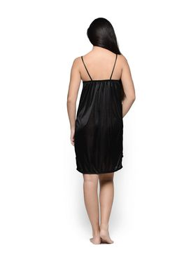 Set of 2 Klamotten Satin Solid Nightwear - X01-29