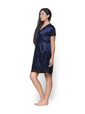 Set of 2 Klamotten Satin Solid Nightwear - X152-67