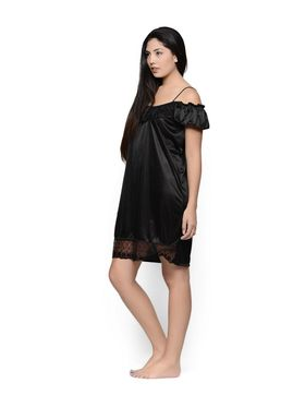Set of 2 Klamotten Satin Solid Nightwear - X31-101