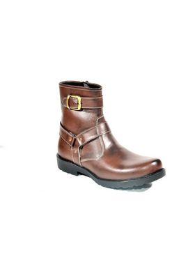 Kohinoor Footwears Artificial Leather Boot - Brown