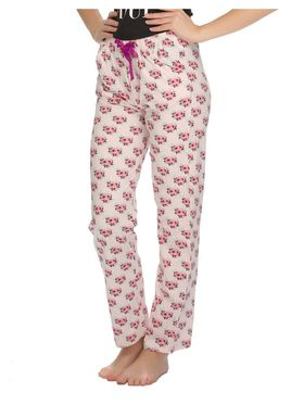 Clovia Cotton Printed Pyjama -LB0020A16
