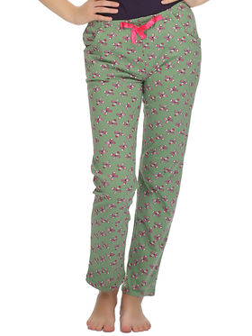Clovia Cotton Printed Pyjama -LB0020P17