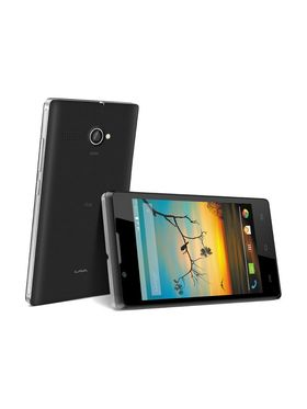 Lava Flair P1i Android Kitkat 3G Smartphone - Black