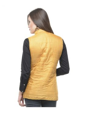 Lavennder Cotton Quilt Reversible Jacket - Fuchsia and Yellow