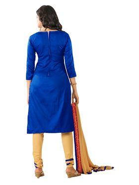 Khushali Fashion Glaze Cotton Embroidered Dress Material -Mcrdmhk810