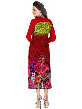 Khushali Fashion Georgette Printed Stitched Kurti -Msk2665