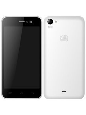 Micromax Canvas Pep Q371 Android Kitkat Quad Core 3G Smartphone - Blue