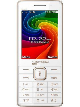 Micromax X2820 - White & Champange
