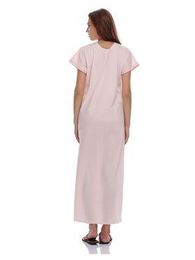 Clovia Cotton Blend Solid Nightsuit -NS0398P22