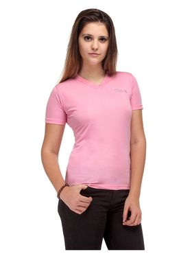 Oleva Combo Of  3  Black Denim Pink T-Shirt  And White Spaghetti ONC-28