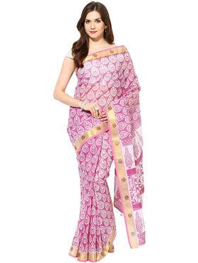 Branded Cotton Bhagalpuri Sarees -Pcsrsd62
