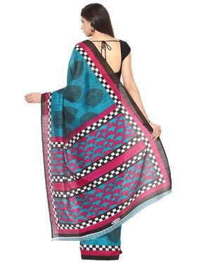 Branded Cotton Bhagalpuri Sarees -Pcsrsd63