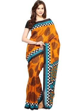 Branded Cotton Bhagalpuri Sarees -Pcsrsd65