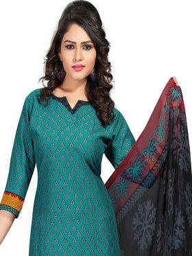 Khushali Fashion Crepe  Printed Unstitched Dress Material -PFCS510
