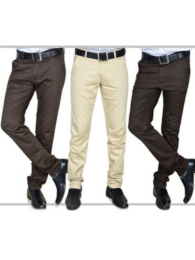 Pack of 3 Basic Chinos