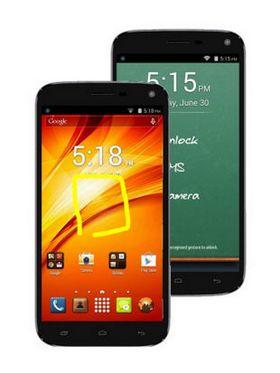 Panasonic P41 Android KitKat Quad Core Mobile Phone- Black