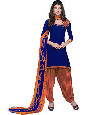 Khushali Fashion Crepe Printed Unstitched Dress Material -RFSN88005