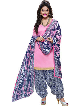Khushali Fashion Cotton Self Unstitched Dress Material -RPSP1010003